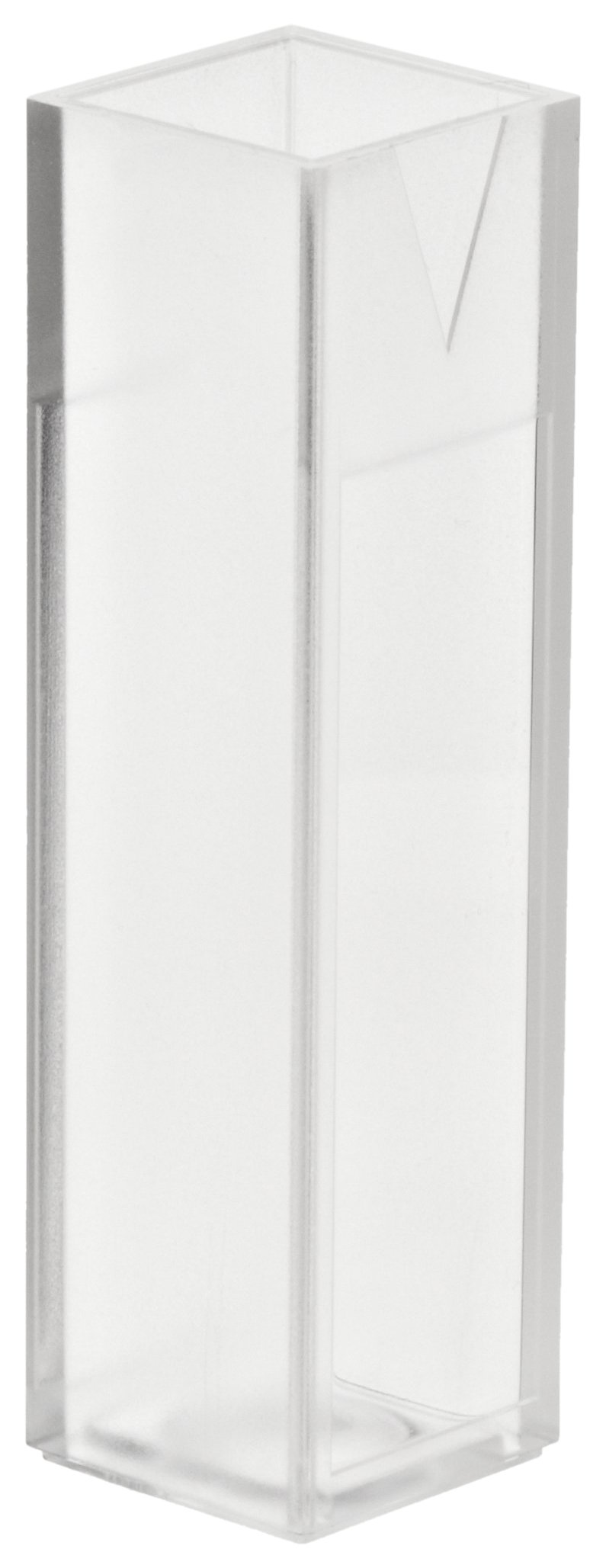 BrandTech 759081D PMMA ''acrylic'' 2.5-4.5ml Macro Spectrophotometry Cuvette (Pack of 100) by BrandTech
