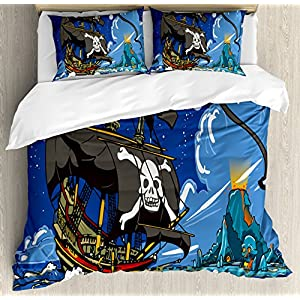 61rFlDmBnvL._SS300_ Pirate Bedding Sets and Pirate Comforter Sets