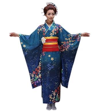 amazon com yuelian women kimono robe traditional japanese yukata