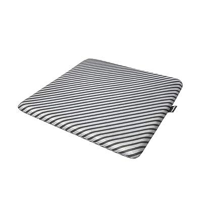 Basics Memory Foam Seat Cushion - Striped, Square: Automotive