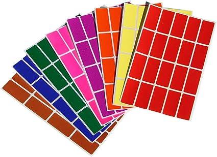 Archivio E Documenti Royal Green Adesivi Rettangolari Colore Verde Oliva 40 MM X 19 MM Ufficio 4 CM X 1,9 CM per Bambini Etichette Adesive Multiuso Confezione Da 100 Pezzi Scuola