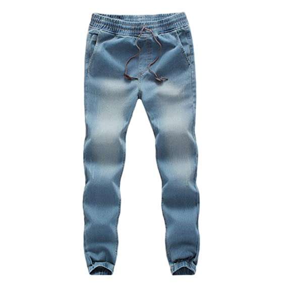 Pantalones Largos Vaqueros para Hombre Deportivo Denim Jeans ...