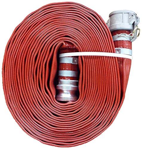 JGB Enterprises A008-0481-0100 Eagle Red PVC Discharge Hose, 3