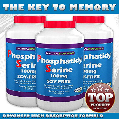 Phosphatidylserine Soy Free Softgels Patented Sharp PS product image