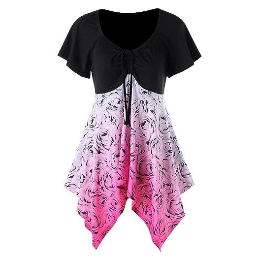24d08fb4d4c Amazon.com  Nadition Plus Size T-Shirt Clearance