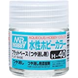 水性ホビーカラー H40 つや消し剤 (フラットベース)