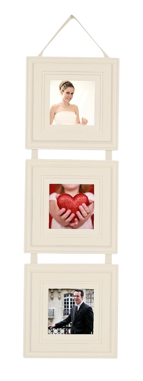 Amazon.com - MyBarnwood Frames - Ribbon Hanging Collage 3, 5x5 ...