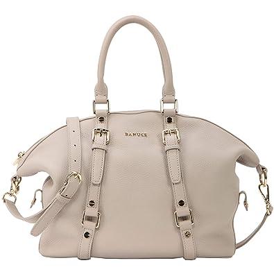 c40d9cd341a3 Amazon.com: Banuce Real Leather Hobo Handbag for Women Ladies Tote ...