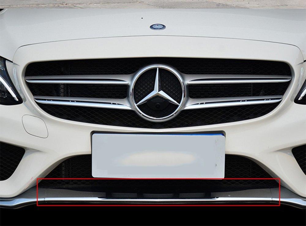RSTFA Front Bumper Left Chrome Trim Molding for Mercedes C200 C300 C350