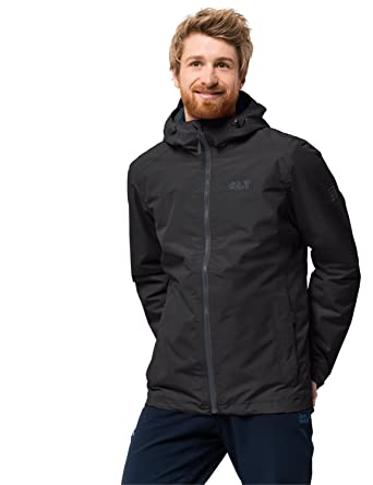 wholesale dealer 08bc7 c0ed1 Jack Wolfskin Chilly Morning Men's Winter Hiking Jacket Waterproof  Windproof Breathable Weatherproof Jacket, Men