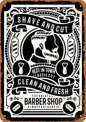 Tamengi Shave and Cut Barber Shop (Black) - Rusty Look 8