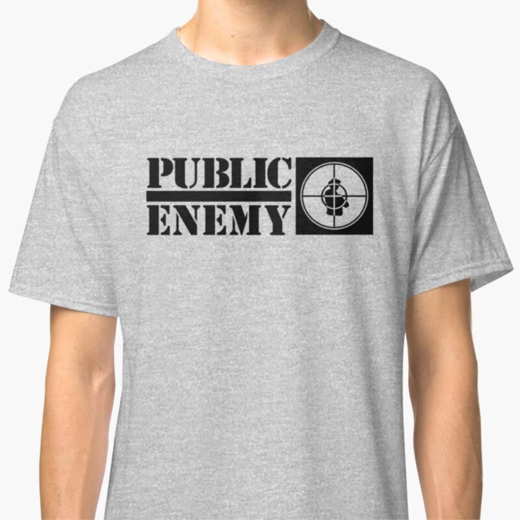 Unisex T-Shirt Public Enemy Shirts For Men Women Fathers Day T Shirts