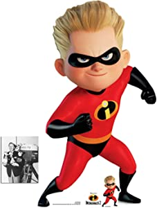 Official Dash Parr from The Incredibles Cardboard Cutout, 93cm x 54cm Includes Mini Cutout and 8x10 Photo