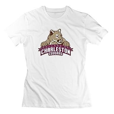 ZhiXiong Women S Crew Neck College Of Charleston Mascot