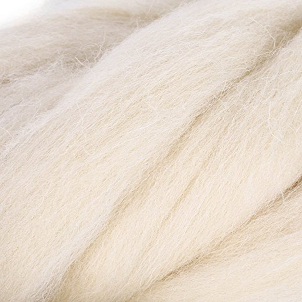 Ultnice feutrage Pelote de laine Roving Laine polaire rotatifs Fibre pour aiguilles de feutrage 200/g Galatea