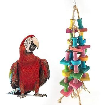 Danigrefinb - Juguete para Masticar pájaros, Loros y construcción ...