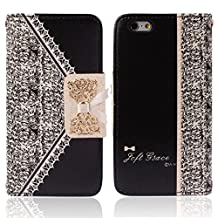 Changeshopping Fresh Cute Flip Wallet Leather Case Cover for iPhone 6