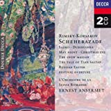 Rimsky-Korsakov: Scheherazade/Russian Easter Festival Overture/Sadko/Christmas Eve/Dubinushku/May Night/The Snow Maiden/The Tale of Tsar Sultan