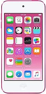 Apple iPod Touch 32GB Pink (6th Generation) MKHQ2LL/A (Renewed)