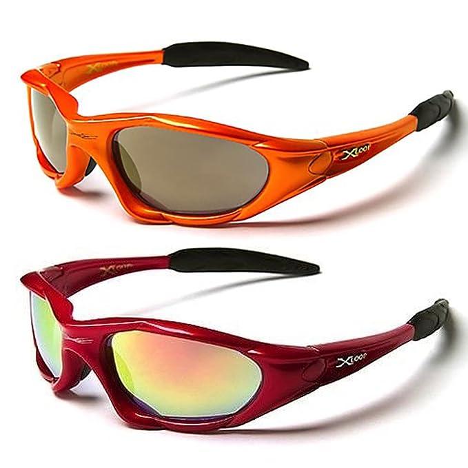 X-Loop Extreme - Occhiali da sole protettivi UV400 (UVA & UVB), ideali per attività sportive quali sci, snowboard, ciclismo, pesca, ecc