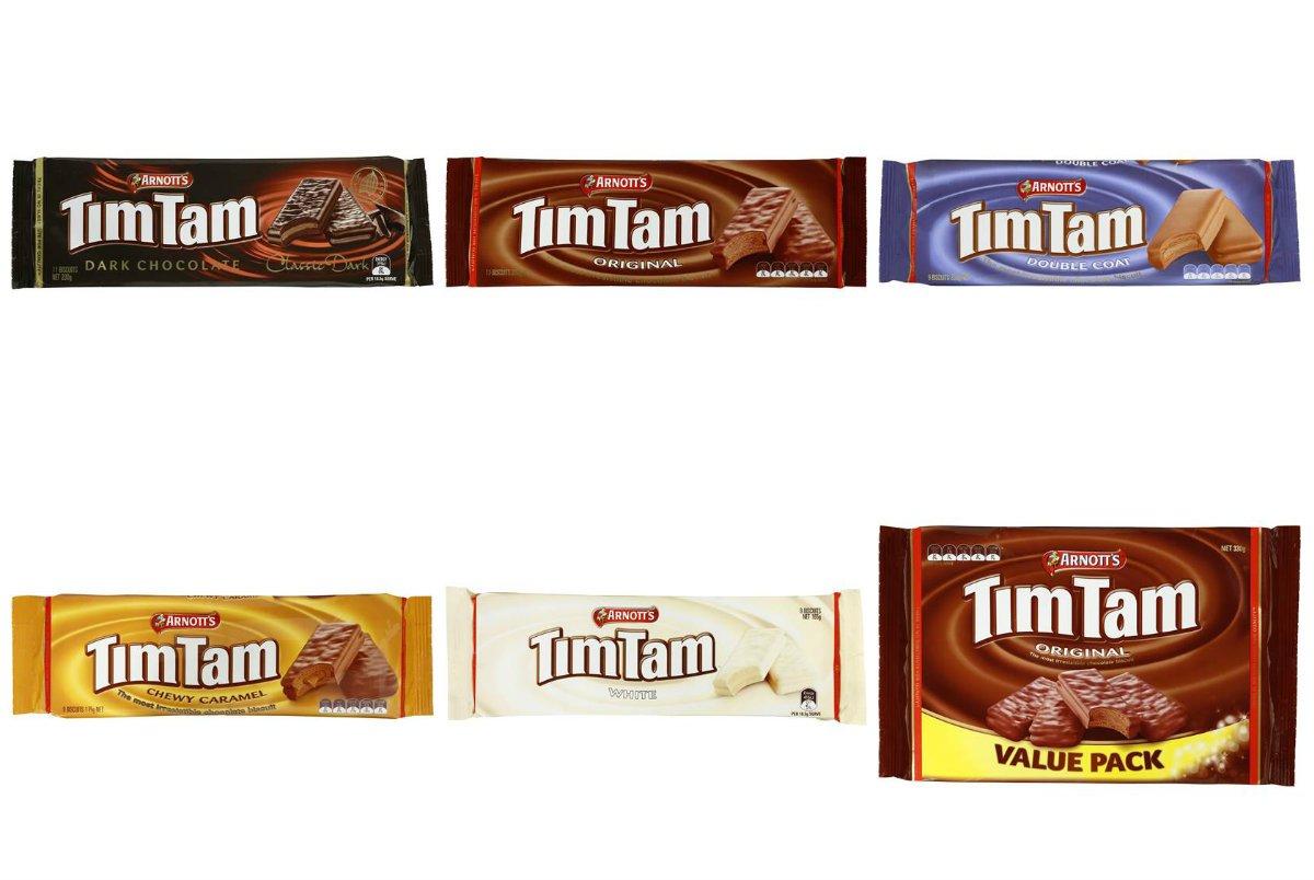 Arnott's Tim Tam Indulgence Pack (Pack of 6)