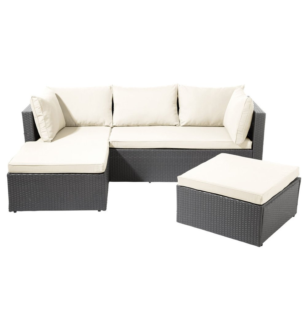 ssitg poly rattan garnitur sitzgruppe lounge m bel sofa gartenm bel garten gartenset g nstig kaufen. Black Bedroom Furniture Sets. Home Design Ideas