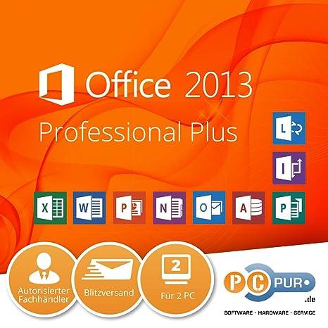 microsoft office 2013 für 2 pc
