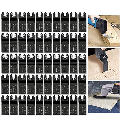 - 50 pcs Mixed Wood Oscillating Multitool Saw Blade Set Fits Fein Multimaster, Porter Rockwell Cable,Black & Decker,Bosch Craftsman,Ridgid Ryobi,Makita Milwaukee,Dewalt, Chicago