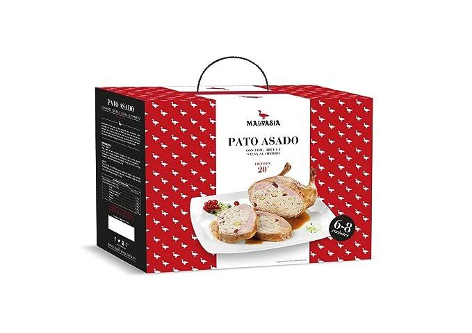 Pato Asado con Foie y Trufa 6/8 raciones Malvasía| Productos Gourmet | Platos
