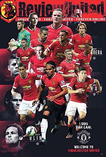 O-88031 Manchester United/ Man Utd 2014/2015 Football,soccer Poster#11 - Rare New - Image Print Photo
