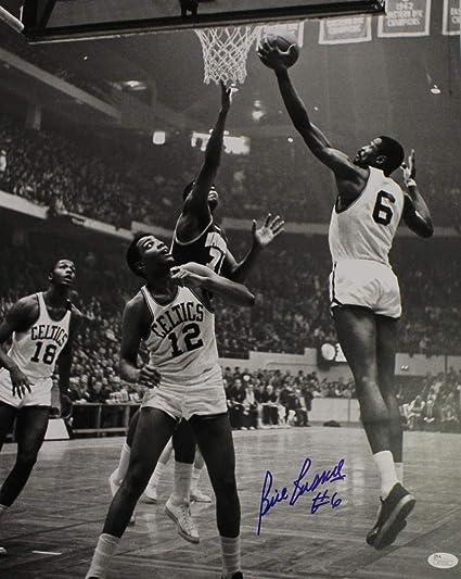 Bill Russell Autographed Signed Boston Celtics 16x20 Photo JSA at ... 7e84272fb
