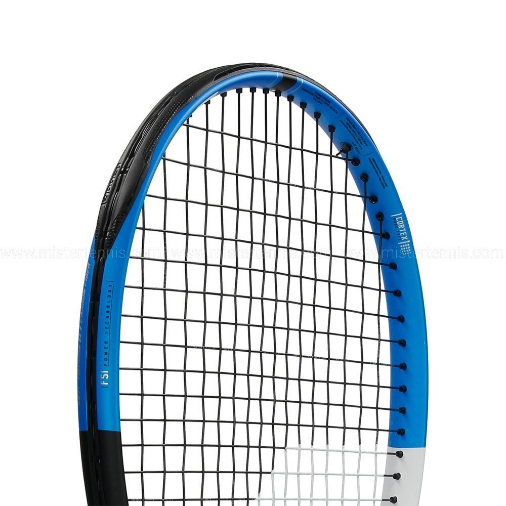 Babolat Pure Drive 25 Junior Blue/White Tennis Racquet (4'' Inch Grip) Strung with White String by Babolat (Image #4)