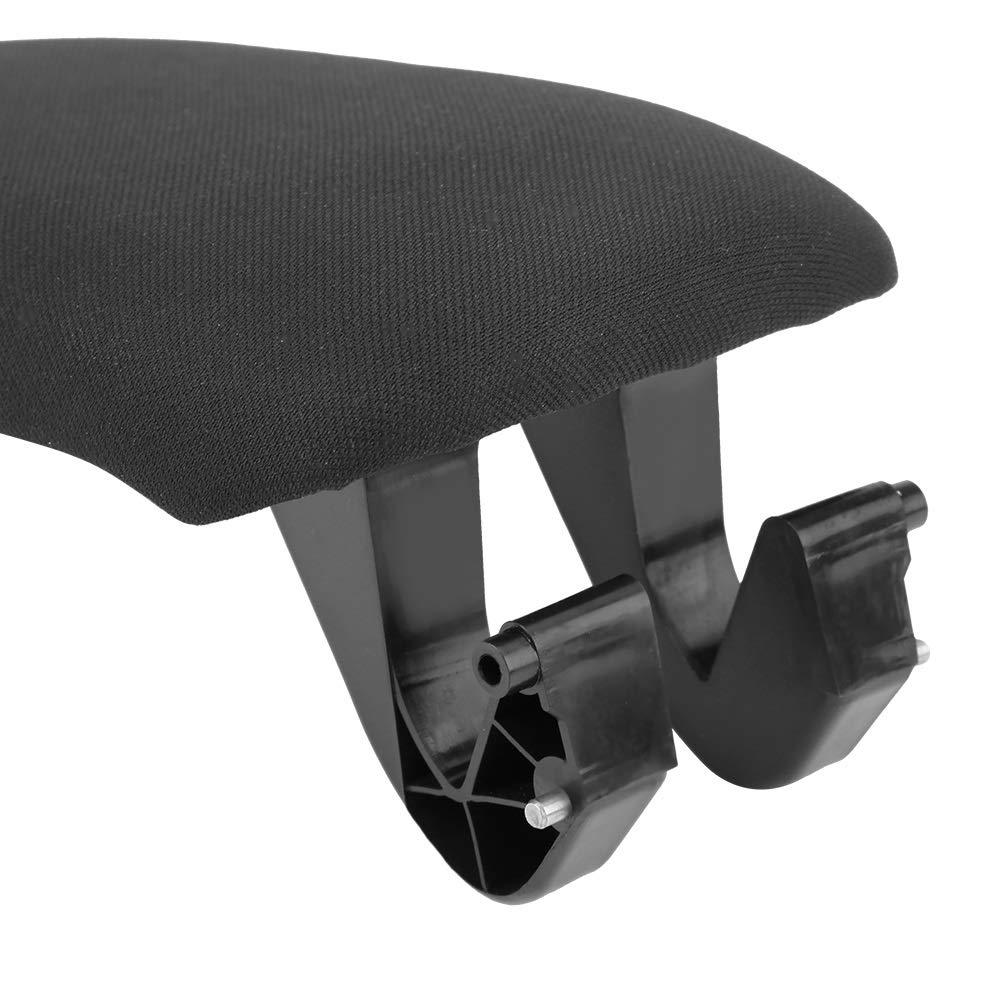Delaman Car Black Center Console Armrest Lid Cover for Audi A3 8P A5 2003-2013 8P0864245P Color : Cloth