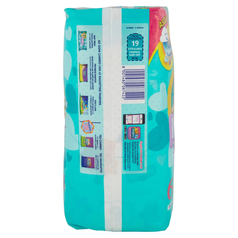 Pampers Baby Dry Nappies Junior X - Pañales para bebés, talla junior, 23 unidades: Amazon.es: Salud y cuidado personal
