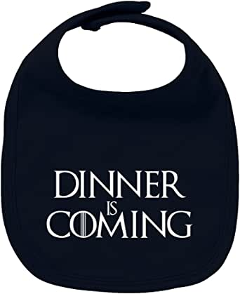 ClickInk Babero de bebé Dinner is coming (Juego de tronos