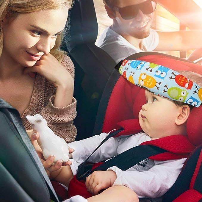 ZYTC Kleinkinder Baby Kopfst/ütze Sicherheit Autositz Hals Relief Band Schlaf Strap Skyblue # Hund