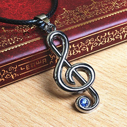Hope Tree Students Of D Neutral Non Mainstream Kill Matt Japanese Anime Peripheral Accessories Hatsune Girl Note Necklace