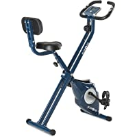KLAR FIT Klarfit Azura Bicicleta estatica - Fija -Azul/Blanco