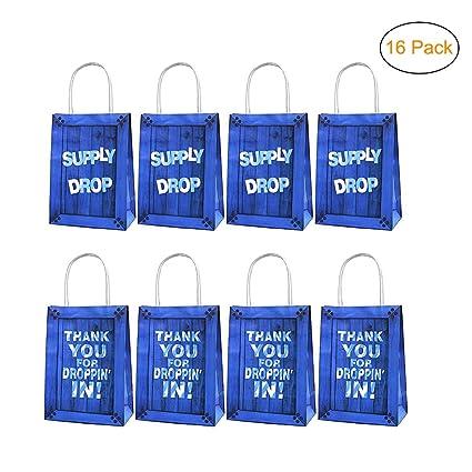 Amazon.com: Paquete de 16 bolsas de juego para fiestas ...