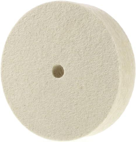 Juego de ruedas de pulido de fieltro de lana juego de accesorios de pulido de fieltro 123 almohadillas de fieltro y rueda de pulido con ruedas de repuesto para limpieza de joyas de madera