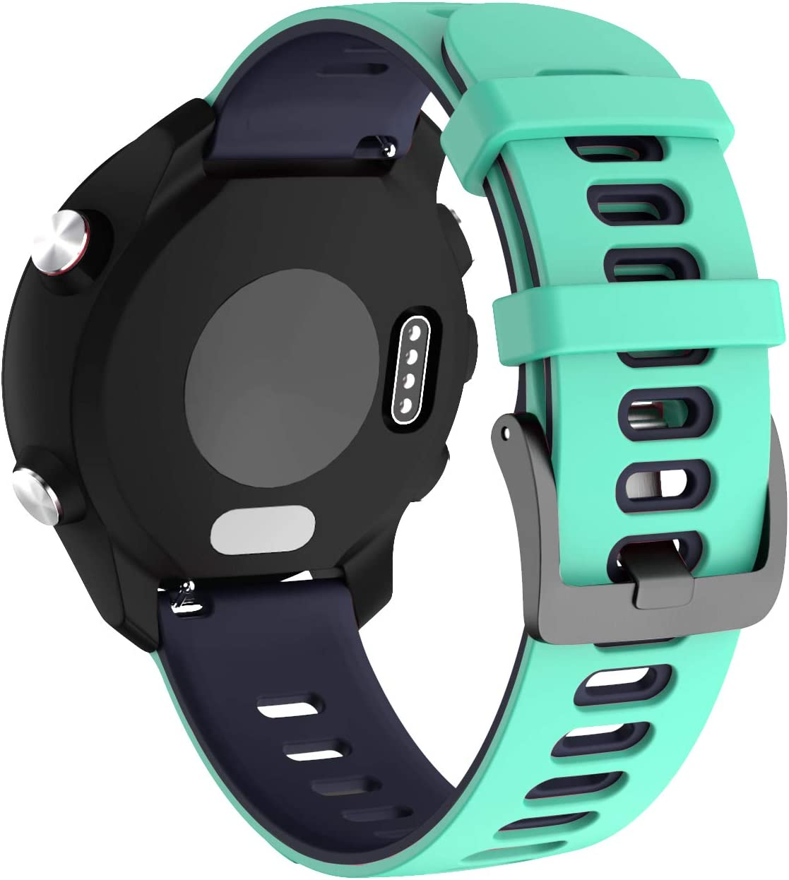 NotoCity Correa para Huawei Watch 2,20mm Repuesto de Correa Reloj de Silicona para Amazfit Bip Xiaomi/Garmin Vivoactive 3/Forerunner 235/245/Samsung Galaxy Watch 42mm/Gear Sport/Active