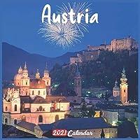 Austria 2021 Calendar: Official Austria Wall Calendar 2021, 18 Months