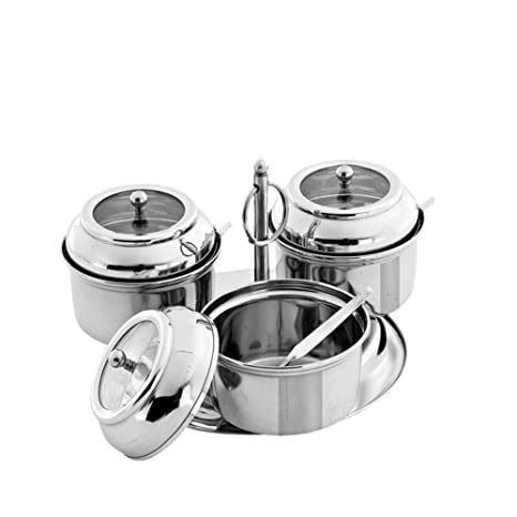 Pigeon Pickle Set 3 Jars   Containers