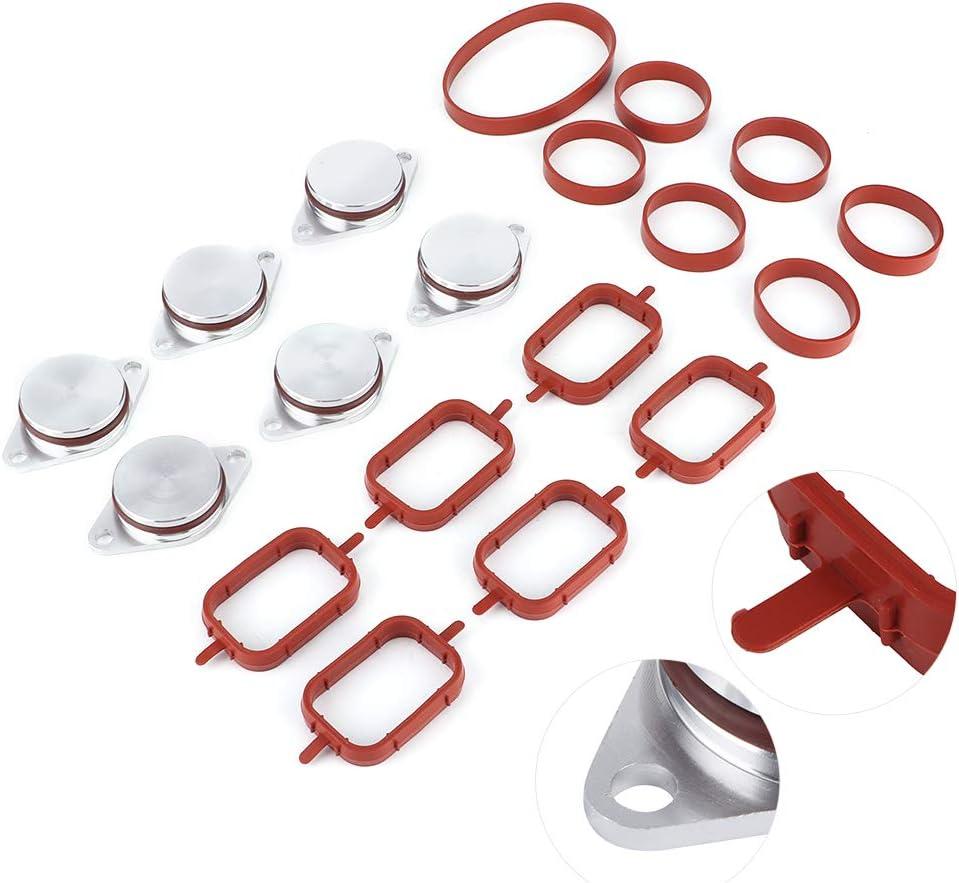Duokon Swirl Flap Blanks , Superbe artisanat Swirl Blanks Flaps Repair Delete Kit avec joints dadmission 11617790198