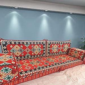 Handmade Floor Sofa Set,arabic Majlis,arabic Jalsa,floor Seating  Couch,floor Cushions,oriental Floor Seating,hookah Bar Furniture,living  Room Decoration ... Part 61