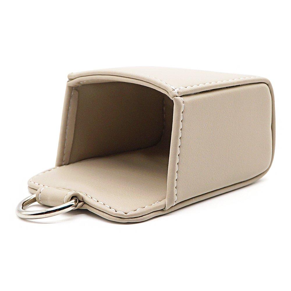 Black LOCEN Car Air Vent Outlet Pocket Storage Holder Pouch for Phone Debris Keys Sunglasses Pens