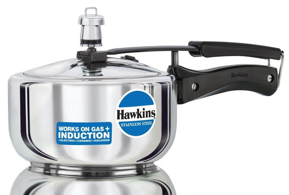 Hawkins Stainless Steel 2.0 Litre Pressure Cooker