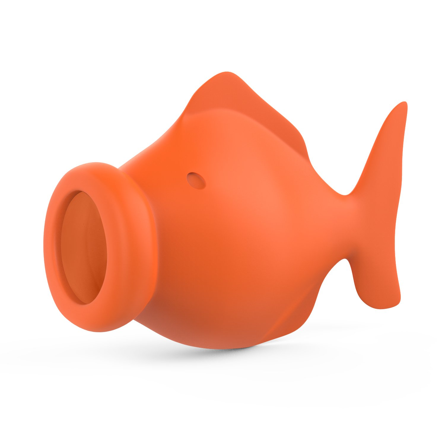 Nuovoware Egg Separator, Cute Silicone Egg Separator Yolk Fish Squeeze Fish Lips Swallow Release York Extractor Divider, Food-Grade Silicone Gel Egg Gadget, Cooking and Baking Tool, Orange P7823-1431