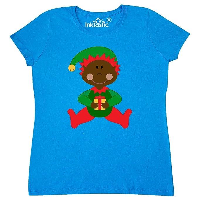 d7afac0ae inktastic - Christmas Elf Ethnic Women's T-Shirt XX-Large Sapphire 1f9bb