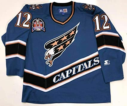 new concept 86a16 704d0 Peter Bondra Jersey - 1998 Stanley Cup Starter Size Large at ...